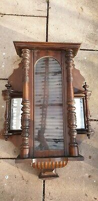 Vienna wall clock case for restoration