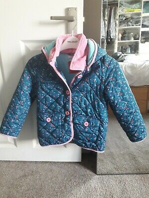 Girls Quilted Coat 6-7yrs