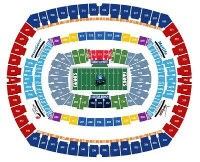 New York Giants vs Miami Dolphins, 12/15, 2 Tickets and Parking Pass