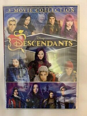 Descendants 1 2 3 DVD 1-3 3 Movie Collection New Free UK P&P
