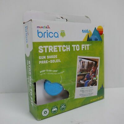 Brica by Munchkin Stretch-to-Fit Car Window Sun Shade
