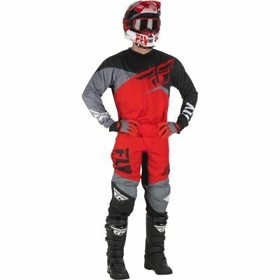 New 30 S 2019 Adult Fly F16 Combo Jersey Pants Kit Red Motocross CR CRF 30/S