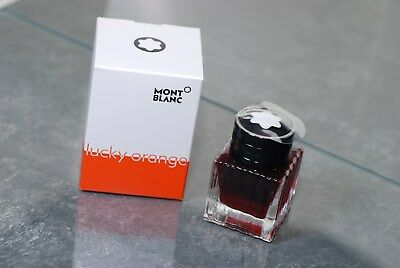Ink Montblanc Lucky Orange Tintenfass, 30 ML (Orange)