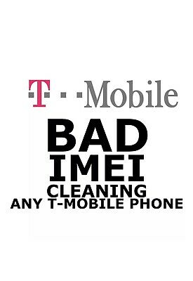 T-MOBILE USA IMEI Cleaning SERVICES BACK 1-8 days Blocked/ LOST/STOLEN FROUD