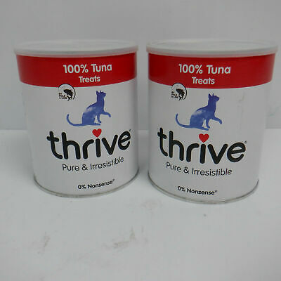Thrive Cat 100% Tuna Treats MaxiTube - 180g (2 PACK)
