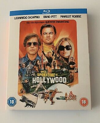 Once Upon A Time In Hollywood Bluray