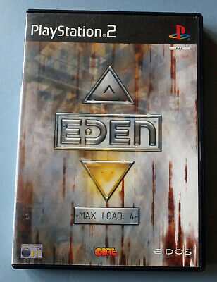 Playstation 2 Ps2 Game Project Eden Pal Format