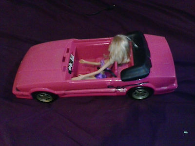 Barbie Vintage Dream Car Convertible Retro Sports With 1 Doll Cool Lot!