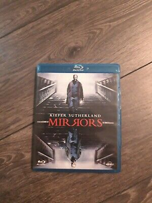 MIRRORS (2008) - BLU RAY - UNRATED - FSK 18 - Kiefer Sutherland - Alexandre Aja