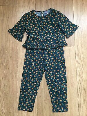 Next Girls Top And Pants Co-ord Set Age 5 Years