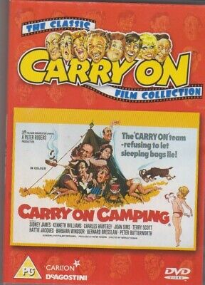 the classic carry on film collection carry on camping dvd deagostini