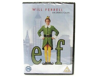 Elf DVD 2003 Brand New Will Ferrell James Caan Christmas Family Comedy