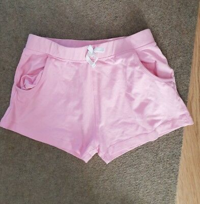 girls pink shorts age 10 years from matalan
