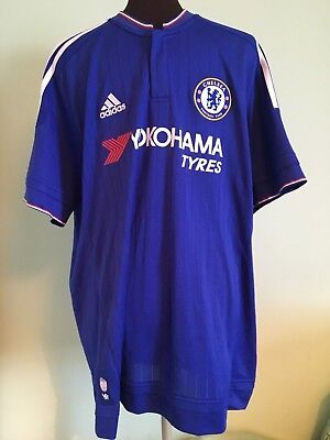 Official Adidas Chelsea Home Football Shirt Size Adult X-Large