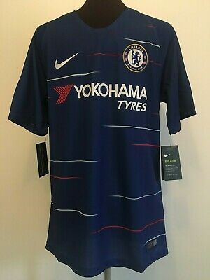 Official Bnwt Nike Chelsea 2018/19 Home Football Shirt Size Adult Small
