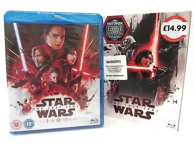 Star Wars The Last Jedi Blu-ray 2017 Brand New Episode VIII 8 Bluray 2 Disc Set