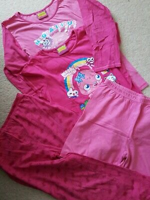 Moshi Monster pyjamas bundle age 11-12