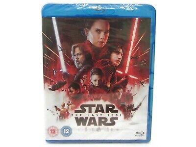 Star Wars The Last Jedi Blu-ray 2017 Brand New Episode VIII 8 Bluray