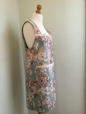 Cross- back Japanese Style Pinny Cooking Kitchen Apron Adults Size 8-14