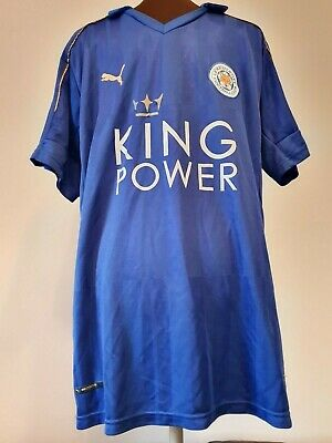 Official Puma Leicester City Home Football Shirt Size Adult X-Large?