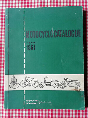 Motocyclocatalogue - 1960 1961 Dictionnaire Cycle Motocycle VAP Scooters 2 roues