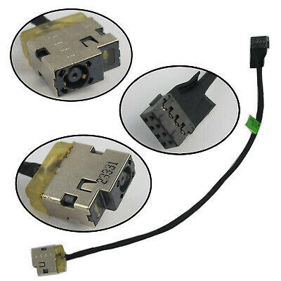 New Ac Dc in Power Jack Plug Port Input Wire w//Cable Harness Connector Socket for HP ENVY 15-u001xx 15-u002xx 15-u010dx 15-u011dx 15-u050ca 15-u110dx 15-u111dx 15-u170ca