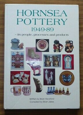 HORNSEA POTTERY 1949-89 + MUST HAVE COMPANION RARITY/PRICE GUIDE Brian Heckford
