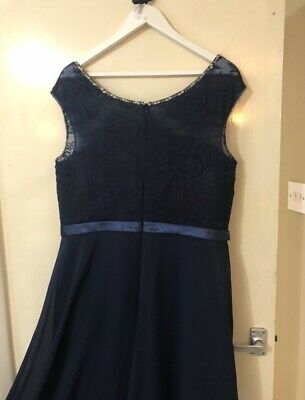Elite Bridal Blue Bridesmaid Dress Size 20