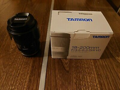 TAMRON zoom lens 18-200mm F3.5-6.3 DiIII VC Sony E mount for NEX