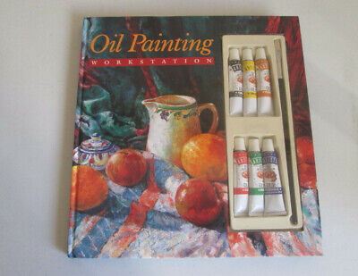 Oil Painting Work Station By Rod Halt For Leisure Arts