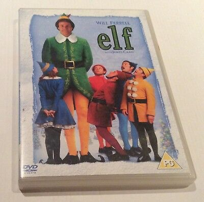 Elf (DVD, 2005, 2-Disc Set) Will Ferrell. Festive Classic FREE UK POST!