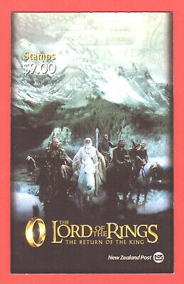 New Zealand - 2003 - Lord Of The Rings - Return Of The King - $9  Booklet  - Mnh