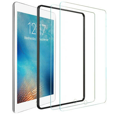 Tempered Glass 9H Screen Protector Full Cover For Apple iPad 10.2'' 7th Gen 2019