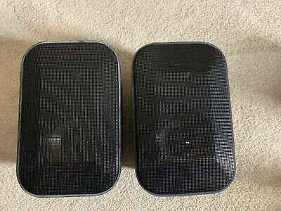 JASCO MODEL 411 TWO WAY SPEAKERS 8 OHM 100 WATT  FOR YOUR PATIO, Well Built!