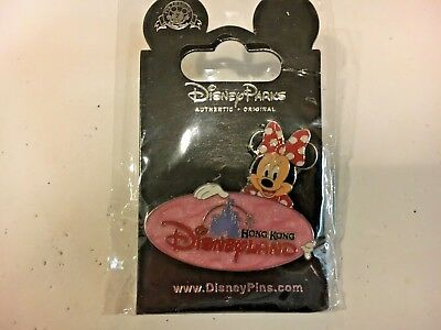 Minnie Mouse Hong Kong Disneyland *****NEW***** Disney Pin