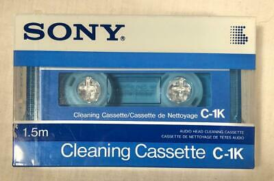 Sealed Sony C-1K Cleaning Cassette Head Cleaner