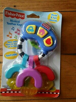 Fisher price Musical Teether Keys Baby 3M+