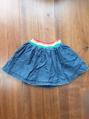 Girls Little Bird Jools Oliver Mothercare denim Skirt, 12-18 months