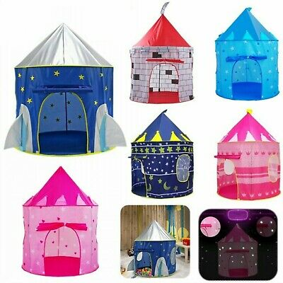Kids Childrens Baby Pop Up Play Tent Fairy Girls Boys Playhouse Outdoor Indoor