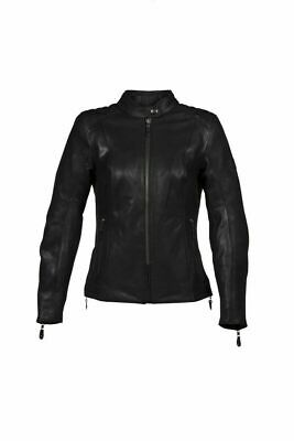 Genuine Triumph Ladies Roxbury Leather Motorcycle Jacket