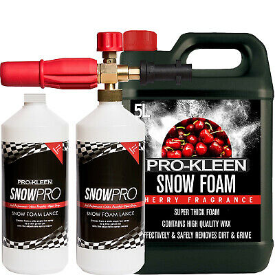 ProKleen Snow Foam Lance Car Pressure Wash Compatible Karcher K2 K3 K4 K5 K6 K7