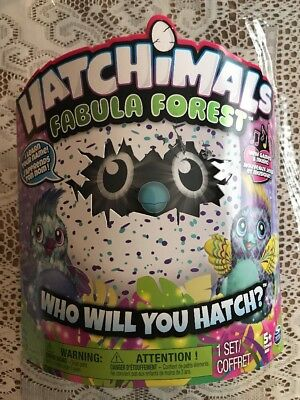 Hatchimals Fabula Forest Puffatoo - Hatching Egg with interactive creature - Nip