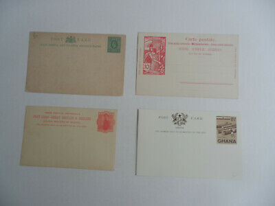 Collection Of Postal Stationary Cards / Qv - Qeii / Mainly Commonwealth