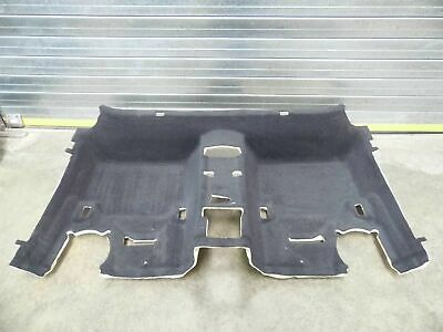 BMW 1 Series F20 Floor Carpet Rear section