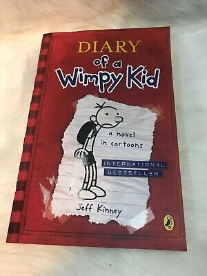 Diary Of A Wimpy Kid (Book 1) by Jeff Kinney 9780141324906 | Brand New