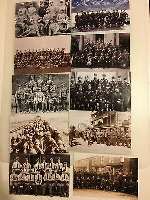 Set of 10 NEW Photographs Copied from Old Vintage Photos of People