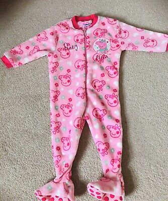 Peppa Pig Fleece All In One 12-18 Months