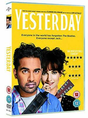 Yesterday (DVD) [2019] - DVD  H5LN The Cheap Fast Free Post