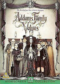 Addams Family Values (DVD, 2001) in mint condition