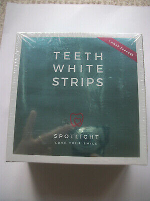 SPOTLIGHT - TEETH WHITENING STRIPS - contains 28 strips